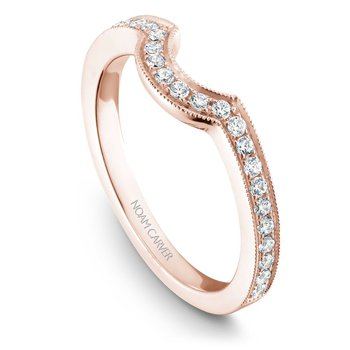Noam Carver Wedding Band B025-02RB