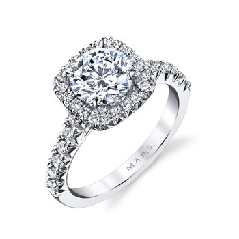MARS 25574 Diamond Engagement Ring 0.57 ctw