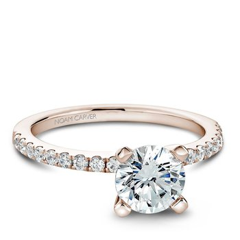 Noam Carver Modern Engagement Ring B017-01RA