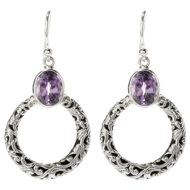 Samuel B Sacred Circle Earrings