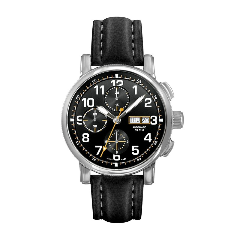 Belair Time Corp. m8020ws-blkblk
