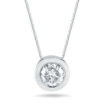 1ct Diamond Pendant