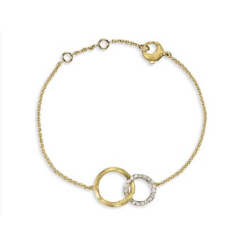 Diamond Jaipur Link Fashion Bracelet