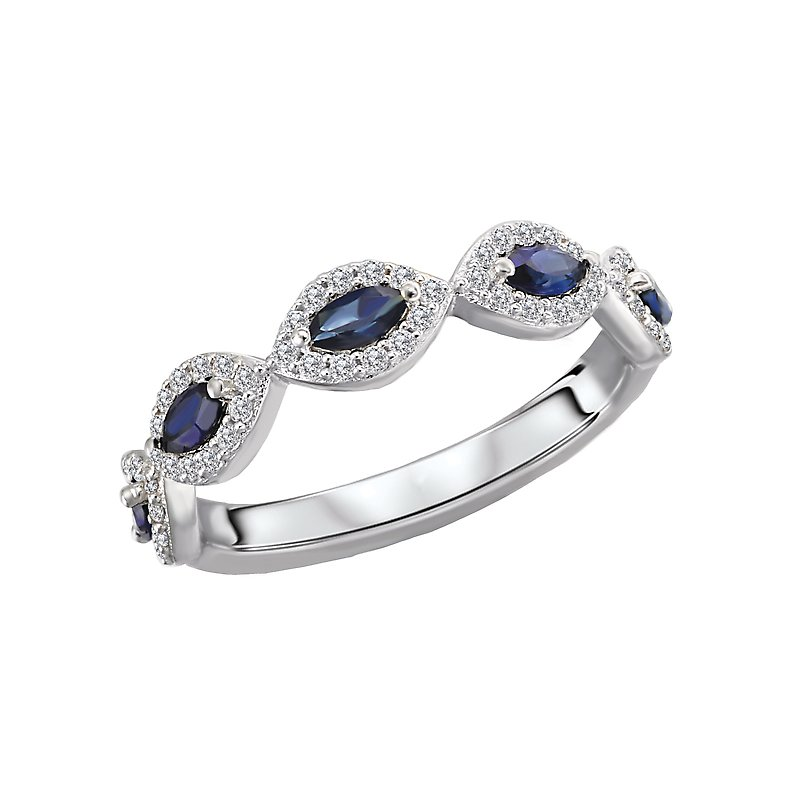 Tesoro Diamond and Gemstone Fashion Ring