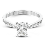 Simon G TR701-EM ENGAGEMENT RING
