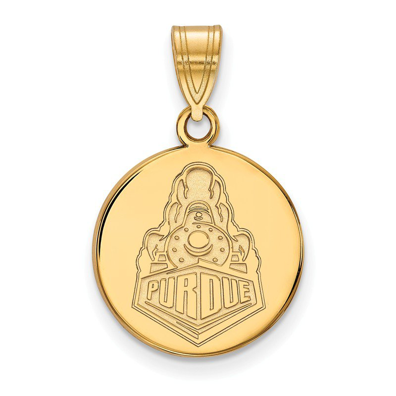 NCAA Gold-Plated Sterling Silver Purdue University NCAA Pendant