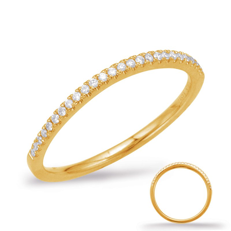 S. Kashi & Sons Bridal Yellow Gold Curve Matching Band