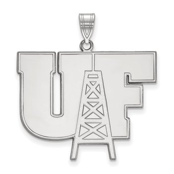 Sterling Silver University of Findlay NCAA Pendant