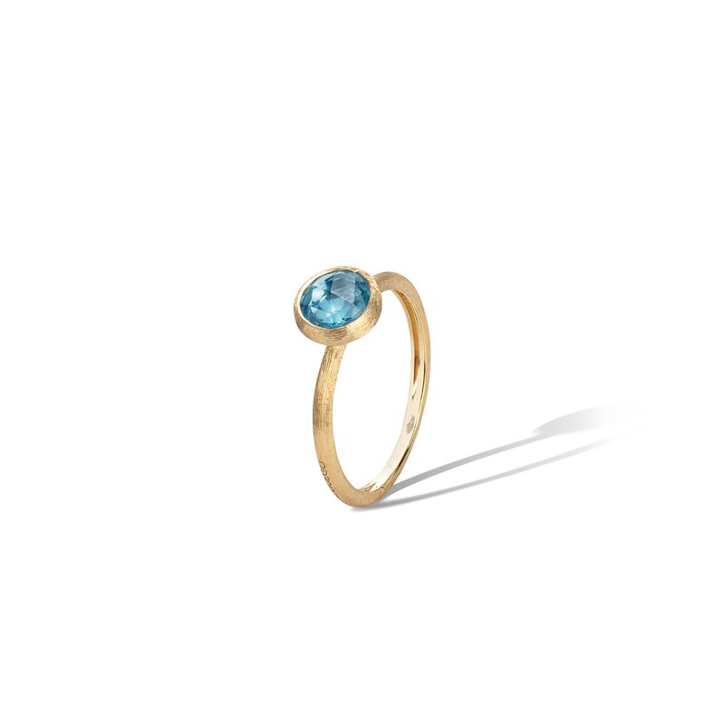 Marco Bicego Jaipur Blue Topaz Stackable Ring