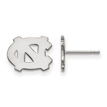 Gold University of North Carolina NCAA Earrings