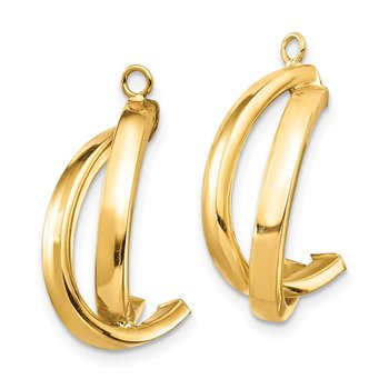14K Dangle Earring Jacket