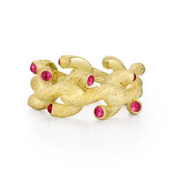 Mixed-Color Branch Ring