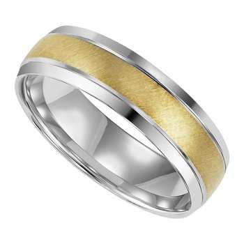 Gold Two Tone Gents Band