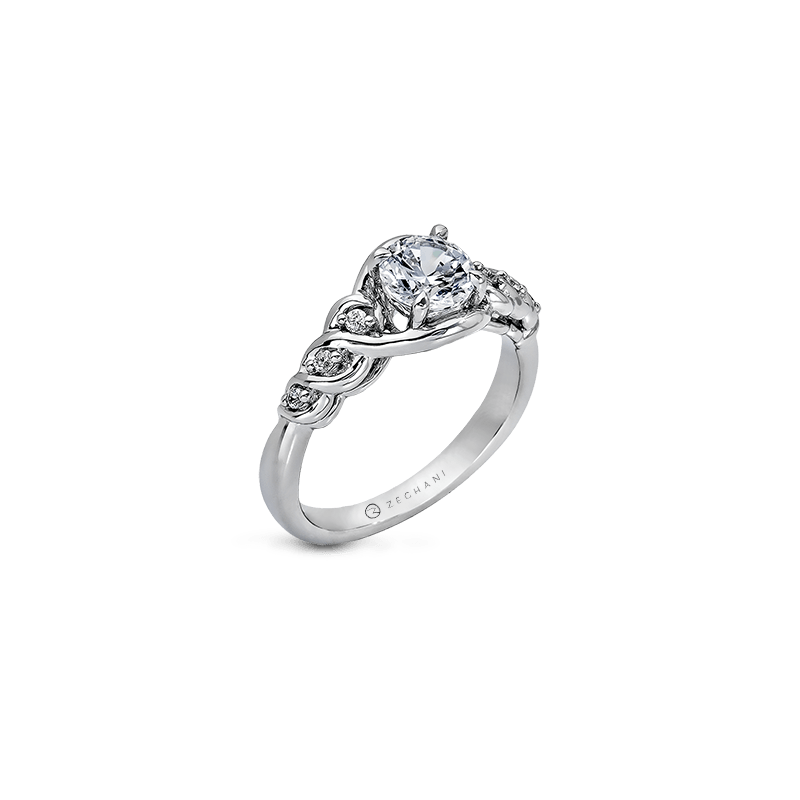 Zeghani ZR584 ENGAGEMENT RING