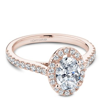Noam Carver Fancy Engagement Ring R050-02RA
