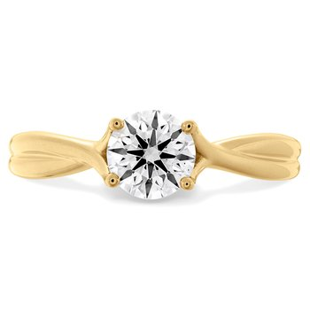 1.5 ctw. Simply Bridal Twist Solitaire Engagement Ring