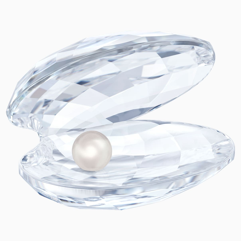 Swarovski Shell with pearl, small