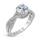 Zeghani ZR1155 ENGAGEMENT RING