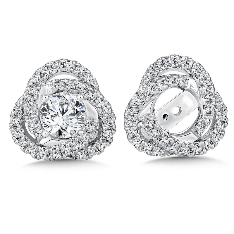 Caro74 Diamond Earing Jacket ( .68 tw )