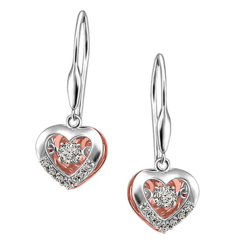 Forever Ice Forever Ice™ Twinkle™ Dancing Diamond™ Earrings