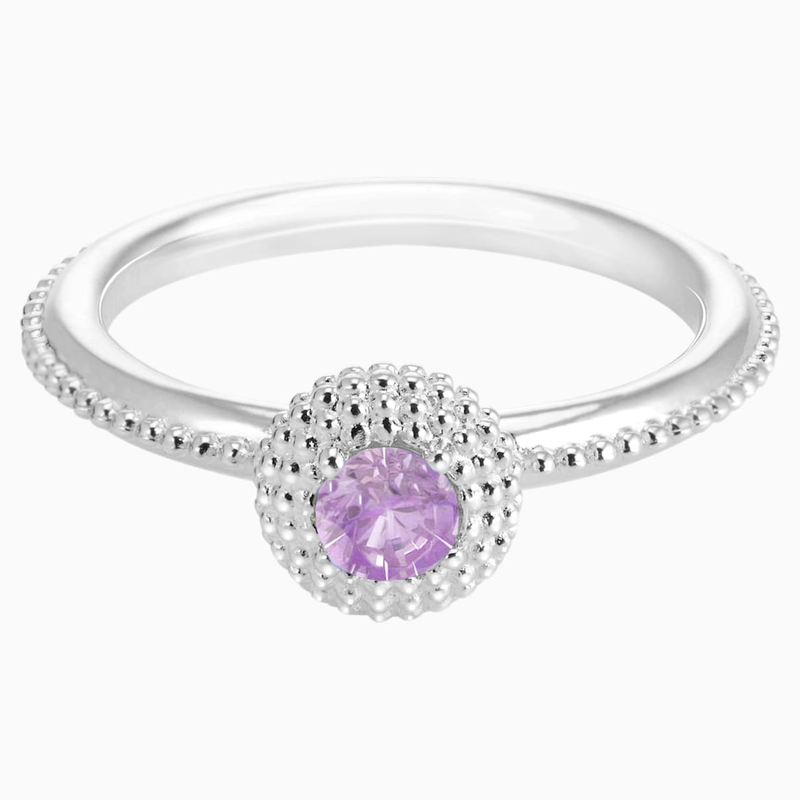 Swarovski Soirée Birthstone Ring February