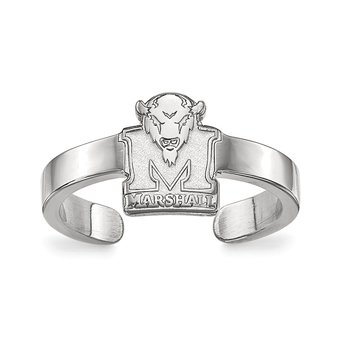 Sterling Silver Marshall University NCAA Ring
