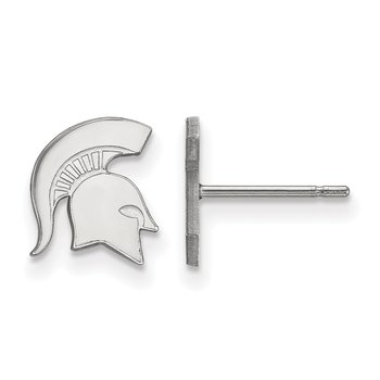 Sterling Silver Michigan State University NCAA Earrings