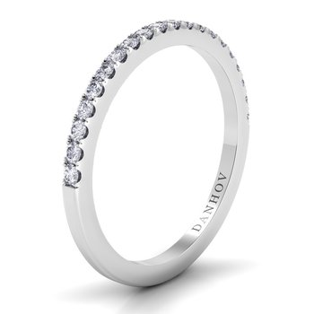 Per Lei Flat Diamond Band