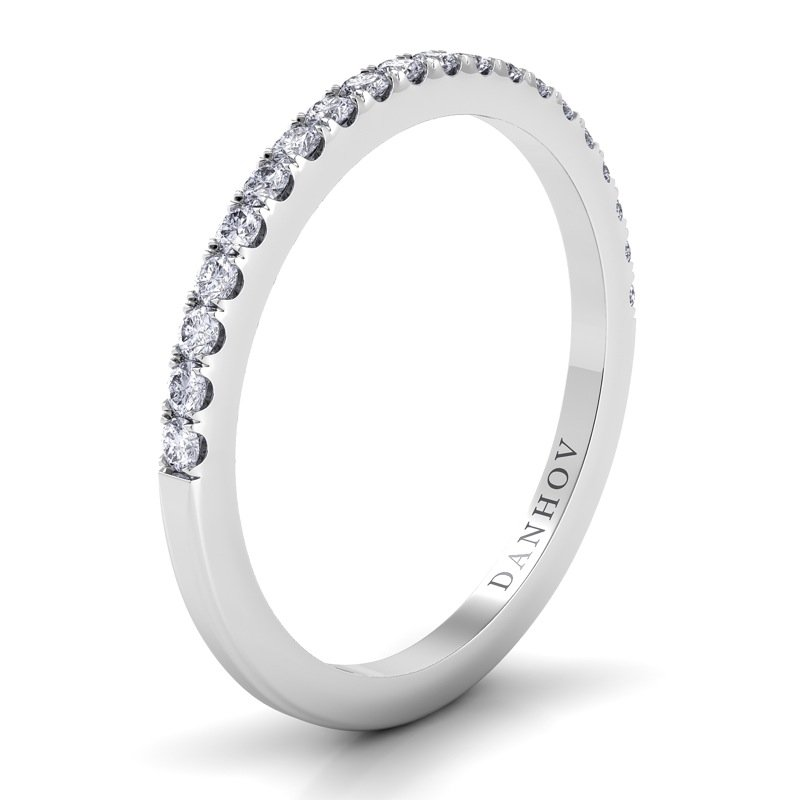 Danhov Per Lei Flat Diamond Band