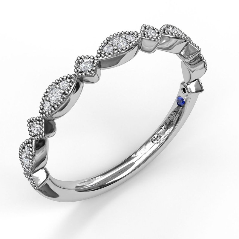 Fana Alternating Marquise and Kite Diamond Band