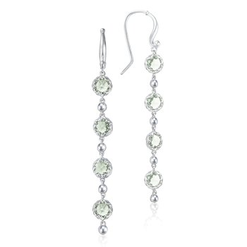 Rain Drop Earrings featuring Prasiolite