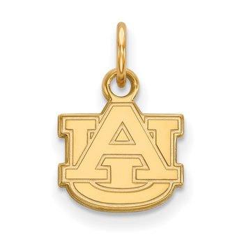Gold-Plated Sterling Silver Auburn University NCAA Pendant