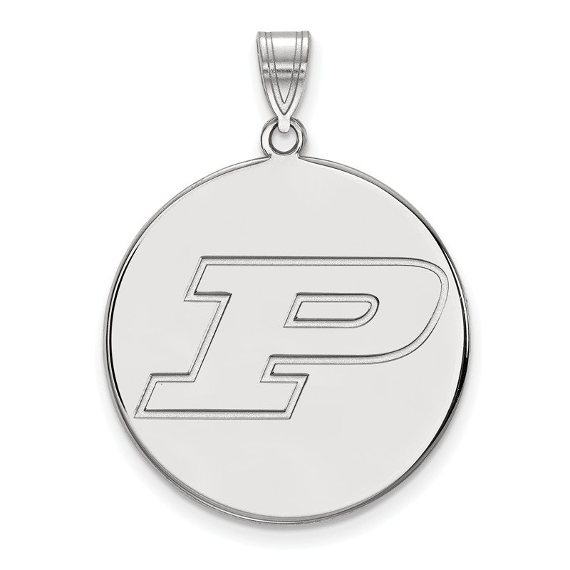NCAA Sterling Silver Purdue University NCAA Pendant