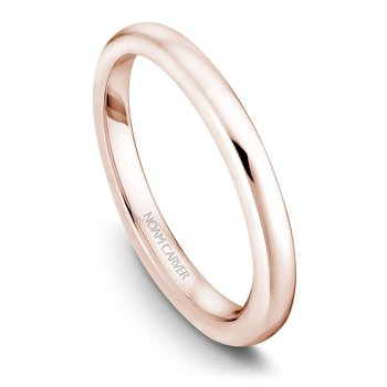 Noam Carver Wedding Band B018-01RB