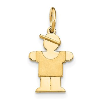 14k Mini Boy Lugs Charm