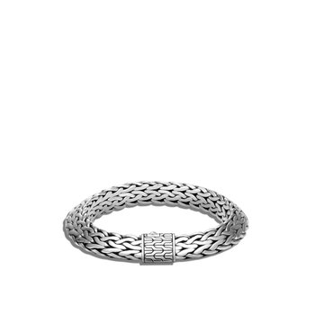 Tiga Classic Chain 11MM Bracelet in Silver