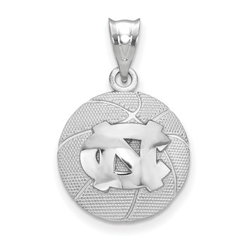 Sterling Silver The University of North Carolina NCAA Pendant