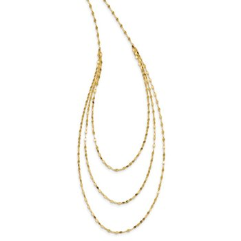 14k Polished Fancy Necklace