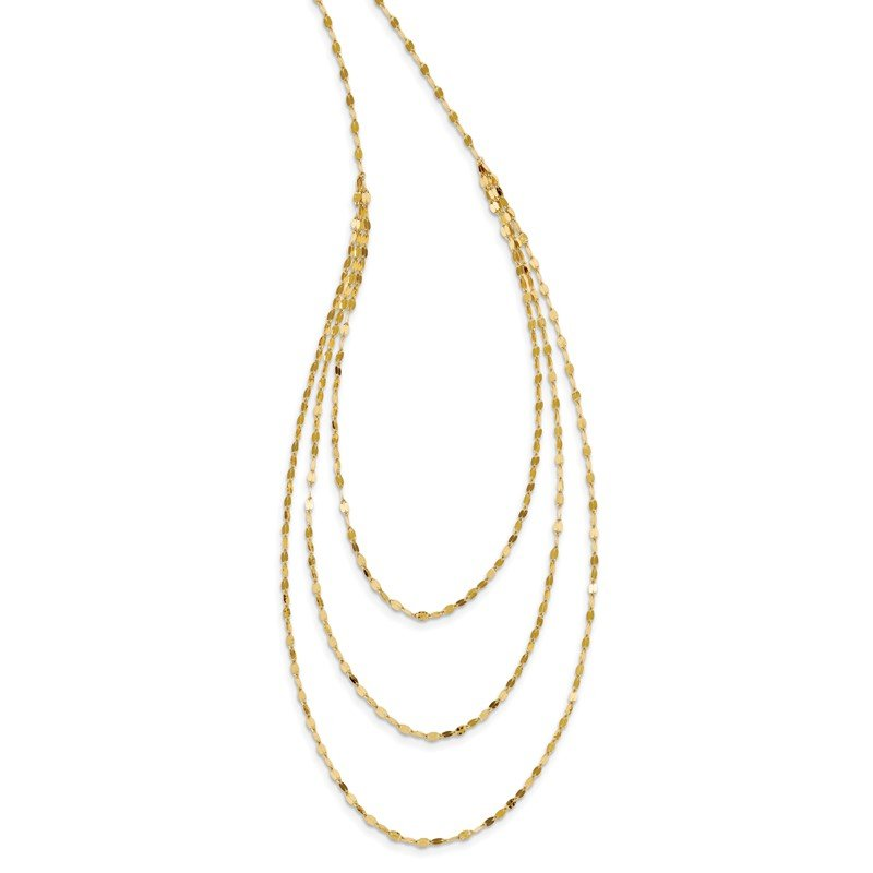 Quality Gold 14k Polished Fancy Necklace
