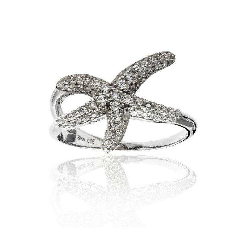 LARUS Jewelry Starfish Ring