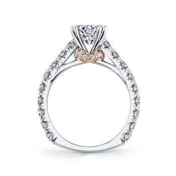 R261 Diamond Engagement Ring 1.22 ct tw