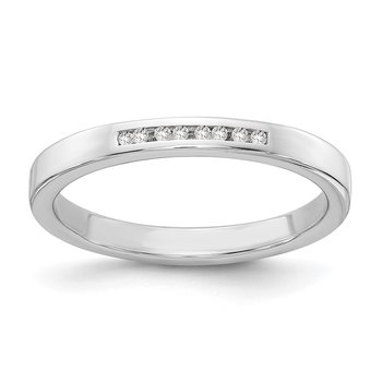 SS White Ice .05ct. Diamond Ring