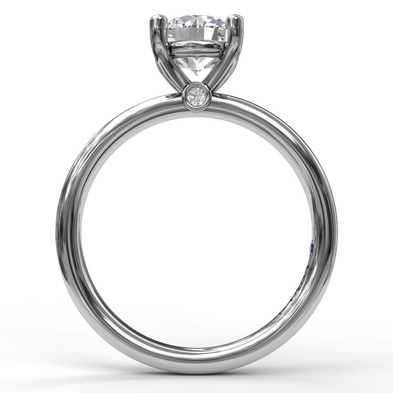 Classic Round Cut Solitaire Engagement Ring
