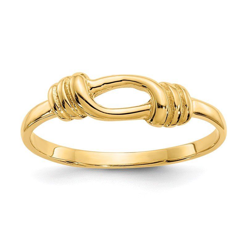 Quality Gold 14K Love Knot Band