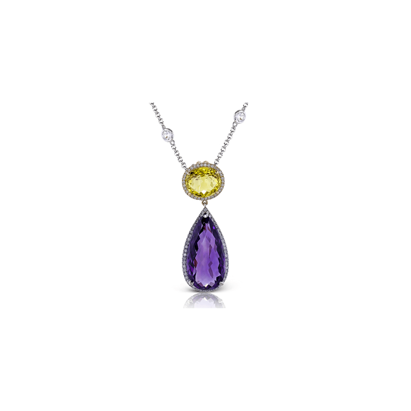 Zeghani ZP158 COLOR PENDANT