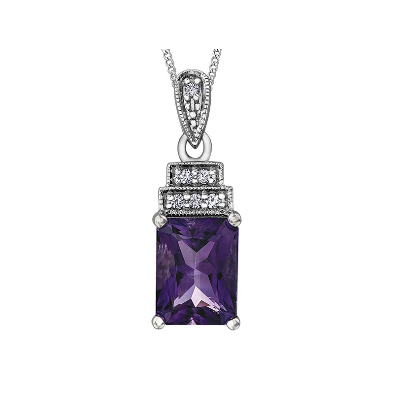 Timeless Beauty Amethyst Pendant