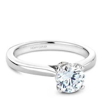 Noam Carver Modern Engagement Ring B140-02A