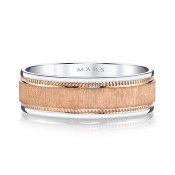 MARS G100 Men's Wedding Band