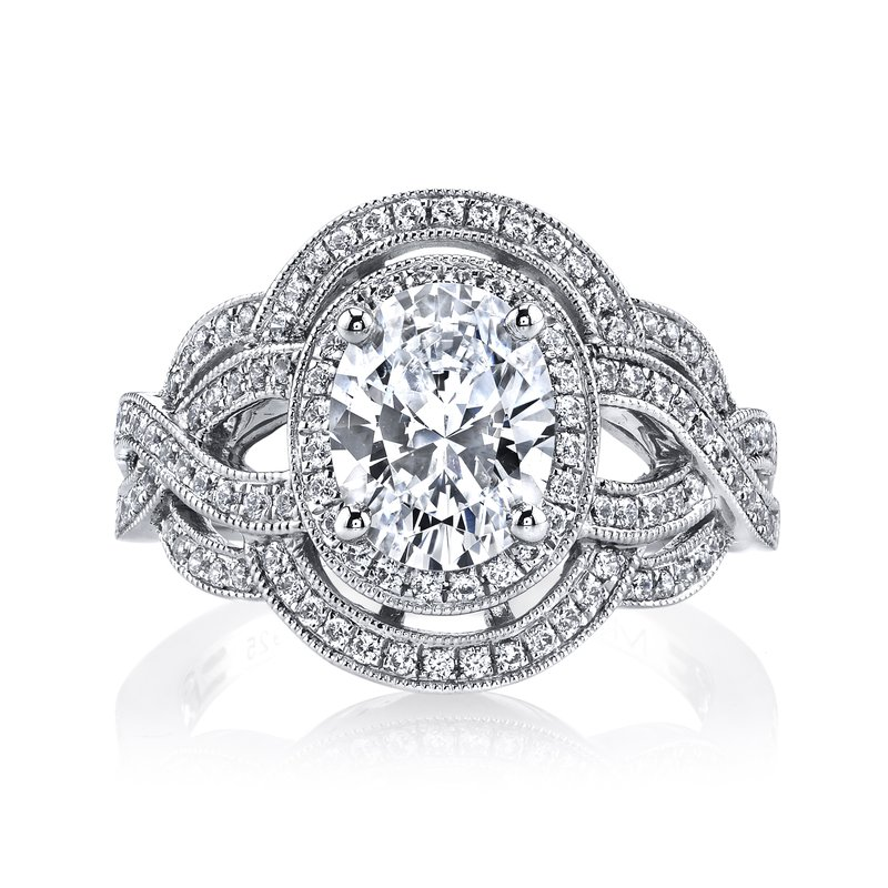 MARS Jewelry 25461 Diamond Engagement Ring 0.66 ct tw