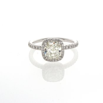 CUSHION CUT DIAMOND 1.21 CT